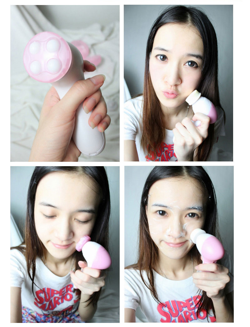 5 In 1 Beauty Care Massager Facial Cleansing Brush As Seen On Tv Kitty